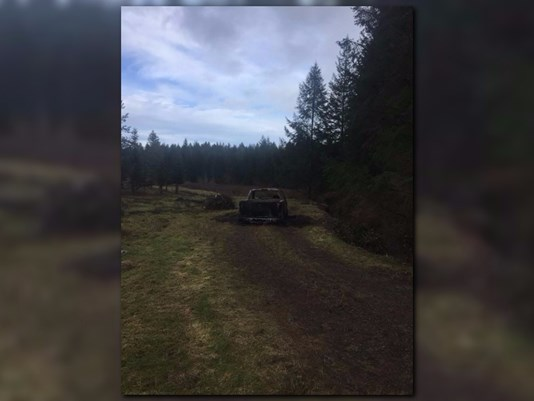 You are currently viewing Burnt Remains Found In Burnt Pick-Up Truck… Connected To Triple Homicide